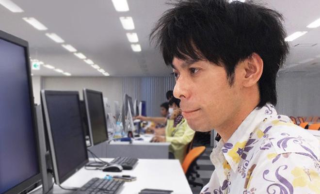 ソリューション開発部/ Takeshi