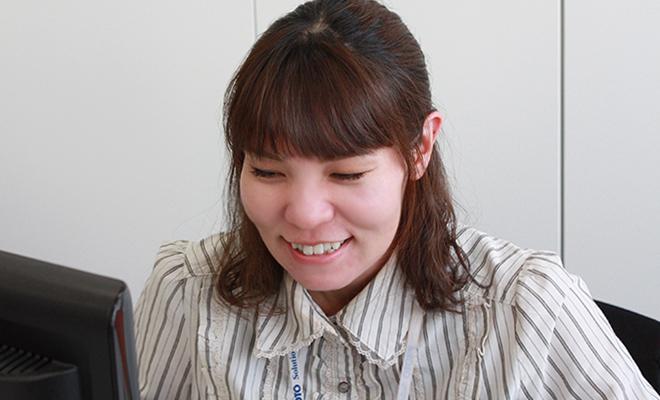 システムソリューション部/ Chisato