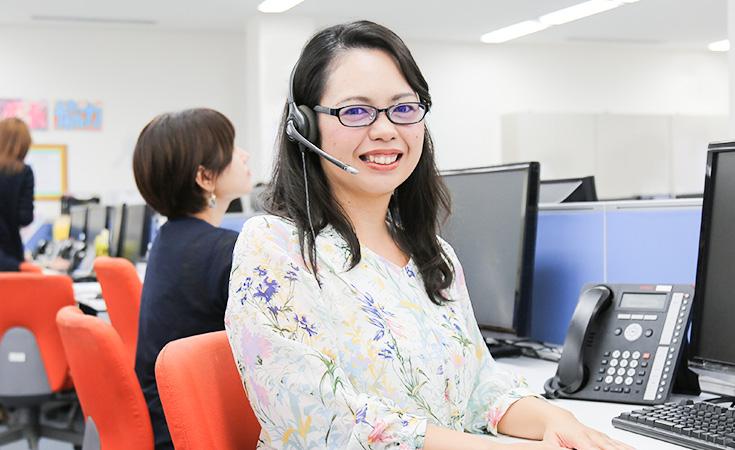 コールセンター部/サポートデスクスタッフ Ayano