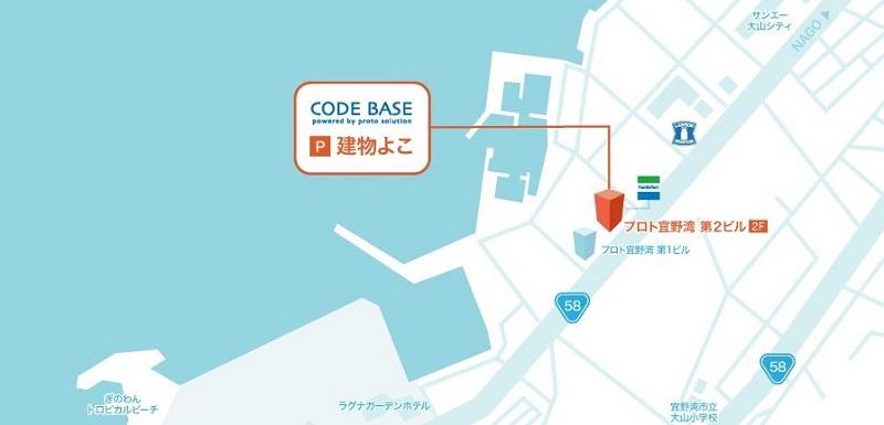 CODE BASE OKINAWA地図